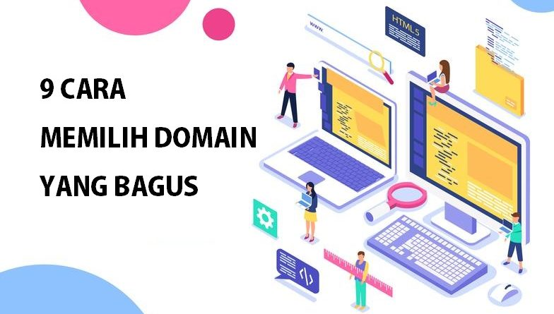 cara memilih domain