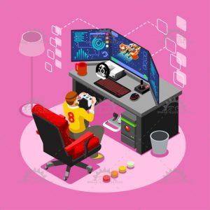 dampak game online pada anak