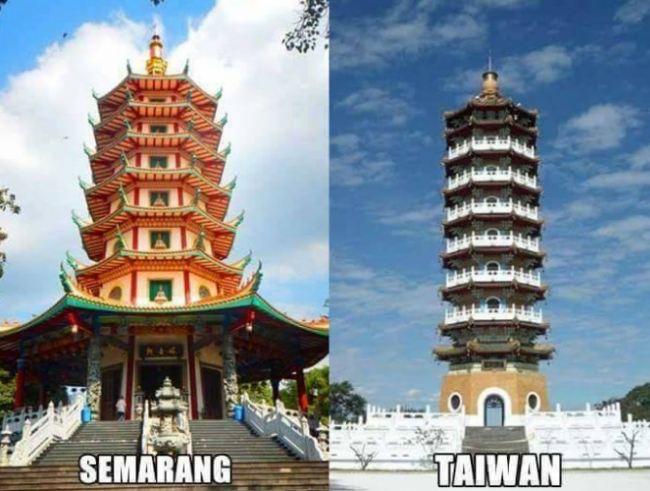 tempat wisata mirip di luar negeri