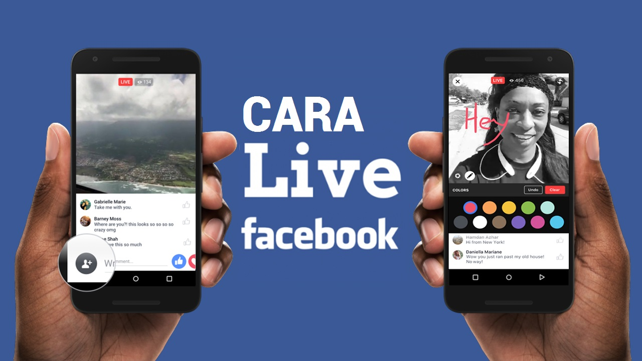 Cara Live Streaming di Facebook