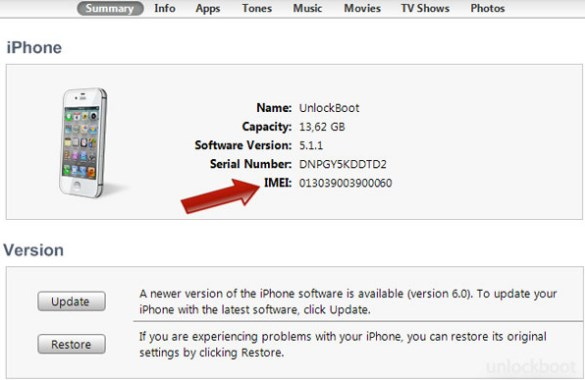 Cek IMEI iPhone Lewat iTunes