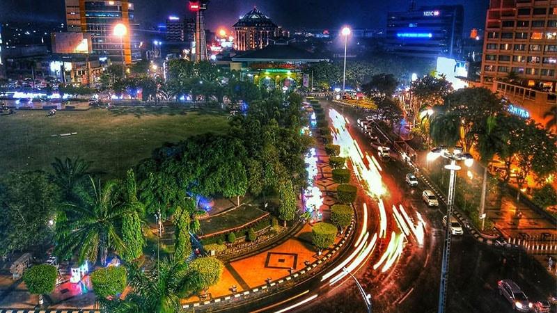 Tempat Tahun Baruan di Semarang