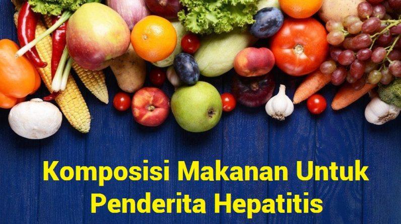 Makanan Penderita Hepatitis