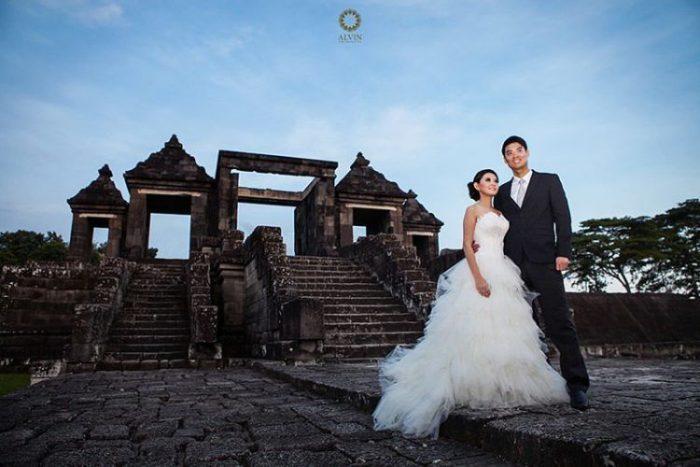 prewedding Istana Ratu Boko yogyakarta