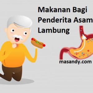makanan bagi penderita asam lambung