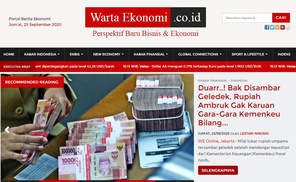 wartaekonomi.co.id portal berita ekonomi indonesia terkini