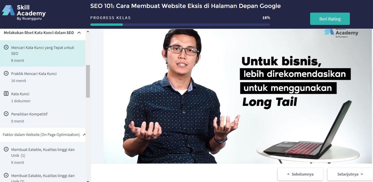 Jawaban Exam Seo 101 Cara Membuat Website Exsis Di Halaman Depan Google