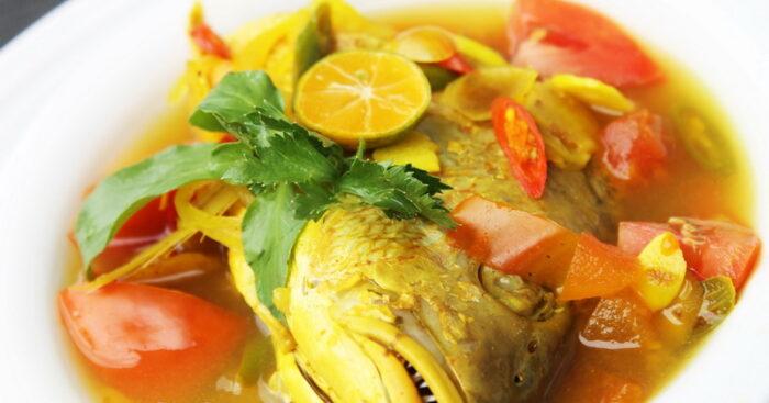 Sup Ikan Kuah Kuning maluku