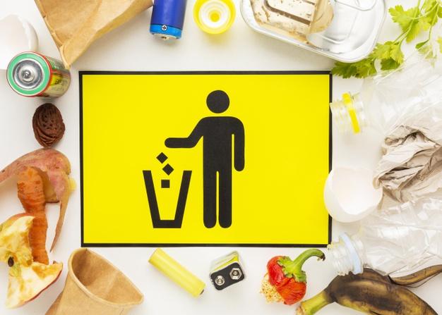 bebas sampah makanan